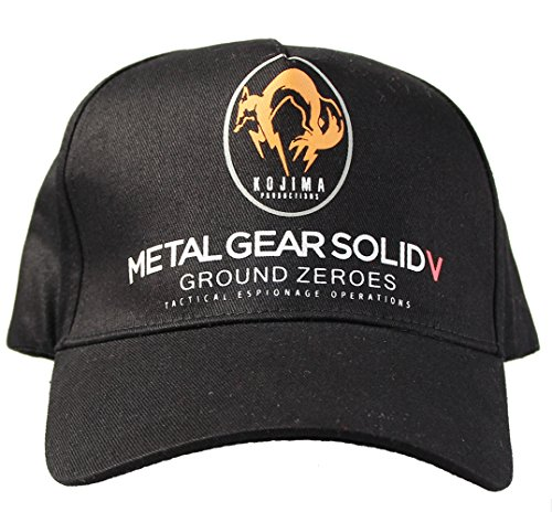 New Cool MGS5 Snake Hat Cap for Hot Game (Solid Snake Phantom Pain Costume)