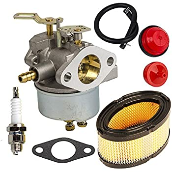 amazon.com : hifrom 632370 carburetor carb kit with fuel ... diesel fuel filter for f250 fuel filter for tecumseh hm100