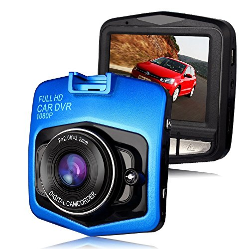 1080P 2.4inch Car DVR Camera Video Recorder (Blue) - 2