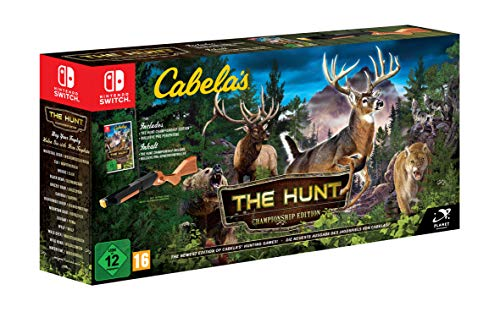 Price comparison product image Cabela's The Hunt (Bundle) (Nintendo Switch)