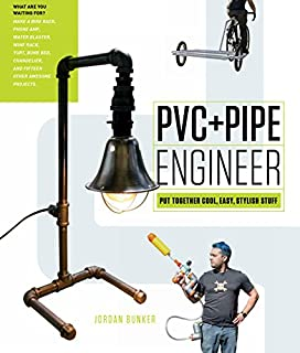 Book Cover: PVC and Pipe Engineer: Put Together Cool, Easy, Maker-Friendly Stuff
