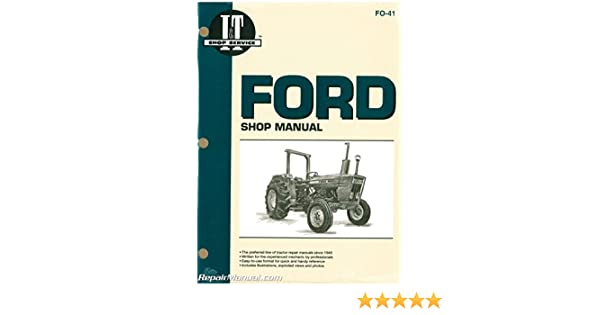 [DIAGRAM_38DE]  FO-41 Ford New Holland 2310 2600 2610 3600 3610 4100 After 1974 4110 4600  4610 Prior To 1984 4600SU 4610SU Prior To 1984 Tractor Manual: by  Publisher: Amazon.com: Books | Ford 4610su Tractor Alternator Wiring Diagram |  | Amazon.com