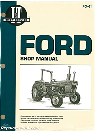 FO-41 Ford New Holland 2310 2600 2610 3600 3610 4100 After 1974 4110 4600  4610 Prior To 1984 4600SU 4610SU Prior To 1984 Tractor Manual: by Author:  Amazon.com: BooksAmazon.com