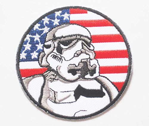 Star Wars U.s. Imperial Stormtrooper Galaxy Sew Ironed Patch Badge Embroidery 3