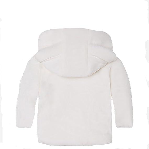 Abrigo de invierno con capucha para beb/é Kids4ever 0 a 36 meses