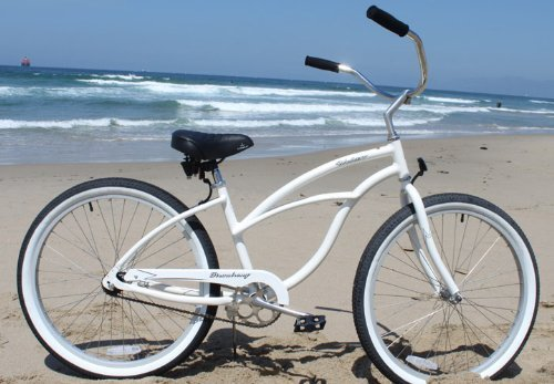 Firmstrong Urban Lady Alloy Single Speed Beach Cruiser Bicycle, 26-Inch, White by Firmstrong (Image #2)