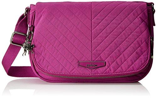 Kipling Earthbeat S - Bolso bandolera Mujer Rosa (Wild Pink)