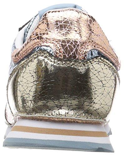 Verona Donna Ginnastica parchment Basse Da Cracked Scarpe W Pepe Jeans Multicolore nfZxAqY5w8