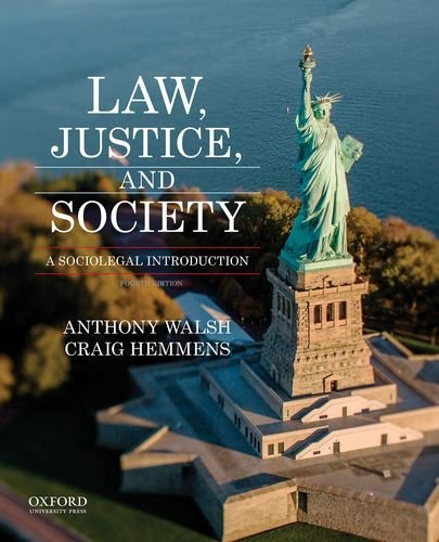 Law, Justice, and Society: A Sociolegal Introduction cover