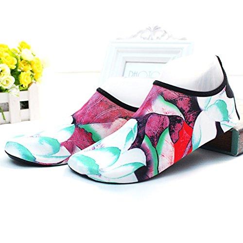 Suave Zapatos Secado Transpirable Modelos Parte Elástica Playa Playa De Antideslizante De 8 En Zapatos Femeninos Zapatos D De Natación Superior La Rápido Suela Buceo Exterior De De Adulto Zapatos Goma Y cy0aY6wvq