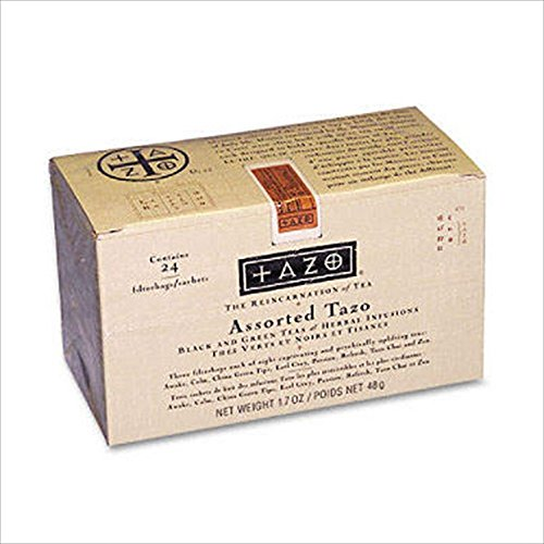 Tazo® Assorted Tea Bags, 24 Tea Bags Per Box -