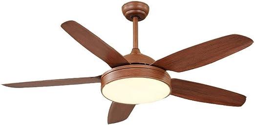 SXY American Retro Lámpara de Techo para Ventilador de Sala de ...