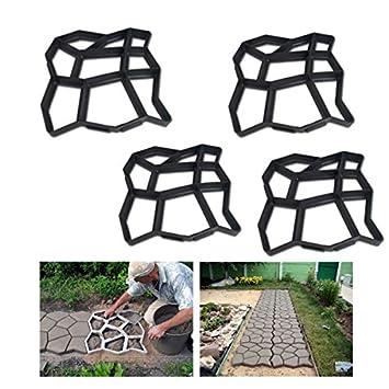 HG® Molde para pavimento de adoquines, molde para acera, molde de empedrado: Amazon.es: Bricolaje y herramientas