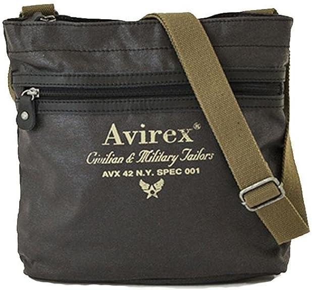 a5 alifax Avirex borsa a tracolla 1 scomparto verde scuro cod