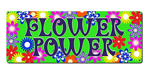 Flower Power ~ 60s Era Hippie Quotes Wall