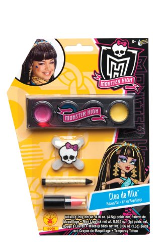 Cleo De Nile Costume Accessories (Monster High Make-Up Kit, Cleo de Nile)