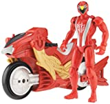 Power Ranger RPM Racing Performance Cycle with 5' Figure Auxiliary Trax: Racing Performance Eagle Cycle