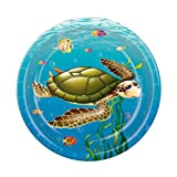 Under The Sea Plates Party Accessory (1 count) (8/Pkg), Health Care Stuffs