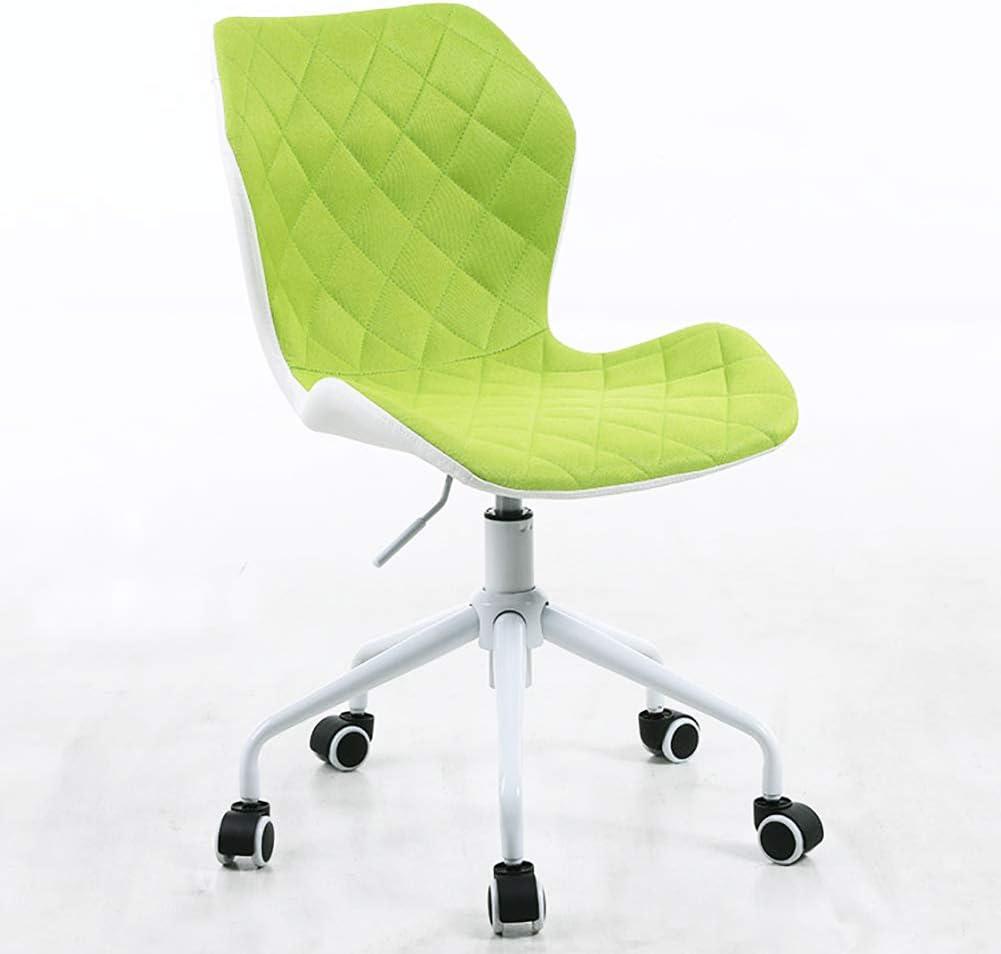 Modern Home Ripple Mid-Back Office Task Chair - White/Lime White Base