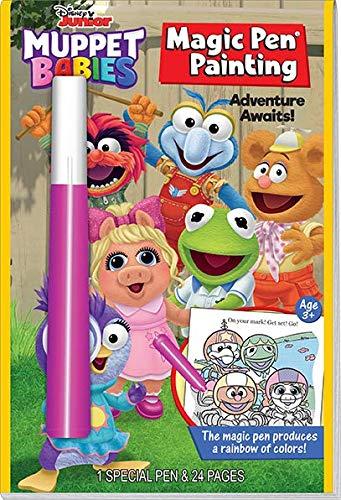 Muppet Babies Games - Lee Publications Magic Pen Painting: Disney Jr. Muppet Babies - Adventure Awaits!