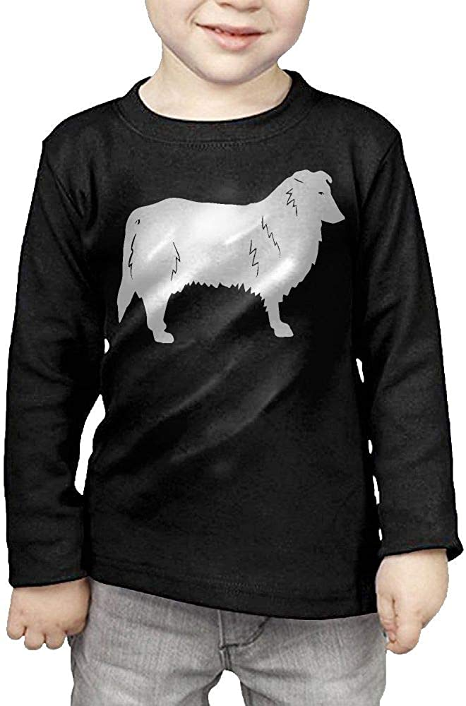 CERTONGCXTS Baby Boys Kids Collie-1 ComfortSoft Long Sleeve Tee