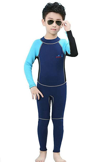 6c2e68d4ab6aa Amazon.com: Neoprene UV protection Swim Suits Wetsuit for Boys and Girls  One Piece Swimsuit: Sports & Outdoors