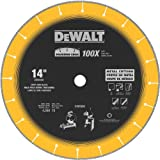 DEWALT DW8500 14-Inch by 1-Inch Diamond Edge Chop Saw Blade