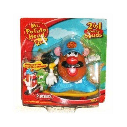 Mr Potato Head Pals 2-in-1 Sport Spuds Soccer Player/Skateboarder - Football Mr Potato