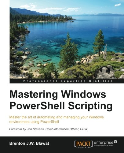 Mastering PowerShell by Packt Publishing - ebooks Account