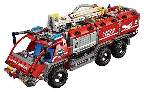Lego Technic 42068 Flughafen Löschfahrzeug Amazon De Spielzeug