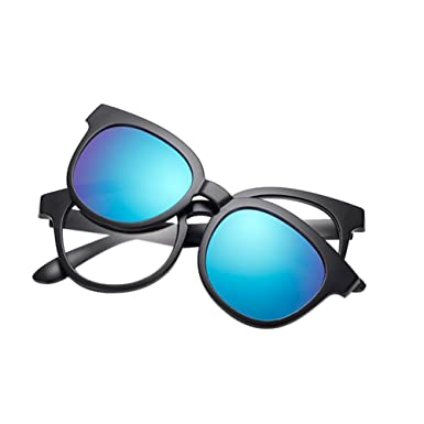 Zhuhaixmy TR90 Frame EyeBrille With Polarisiert Magnet Clip-on Sonnenbrille UV400 Lenses Set