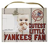 "KH Sports Fan x8"" New York Yankees Clip It Weathered Baby Logo Photo Frame, 10"" x 8"""