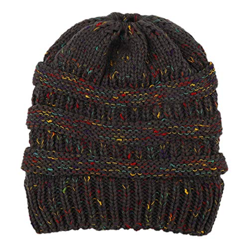Subesty Women Winter Warm Knit Hat Crochet Hairball Beanie Cap for Girls