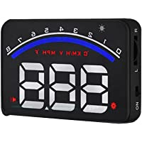 VORCOOL Head Up Display Car HUD Speedmeter M6