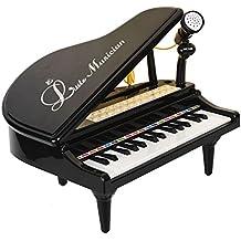 [Patrocinado] Baoli 31Teclas Mini Playing de piano con micrófono para niños Conectar MP3órgano electrónico música Teclado Colorful Rhythm luz 3modos de enseñanza