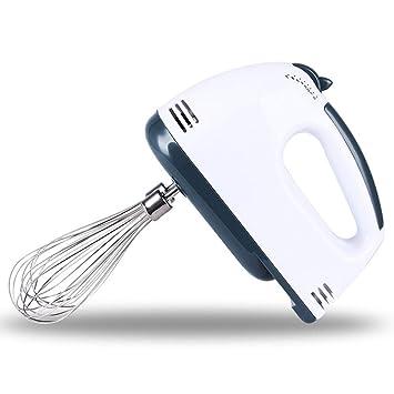 Batidora eléctrica portátil, Batidora de mano, 100 W. 7 Velocidades y Función Turbo: Amazon.es: Hogar