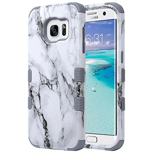 Ultra Clear Slim Case with Flip Cover for Samsung Galaxy S6 (Gold) - 2