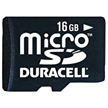 Duracell DU-3IN1-16G-C 16 GB Micro Secure Digital Card with Universal Adapter