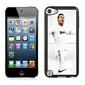 Unique DIY Designed Case For iPod Touch 5 5th With Soccer Player Cristiano Ronaldo 21 Phone Case