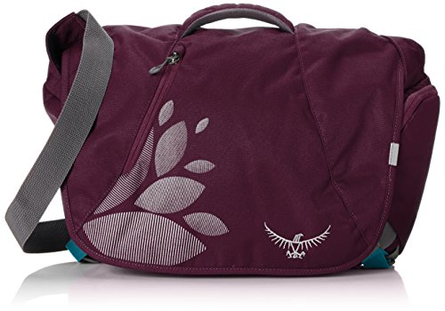Osprey FlapJill Womens Courier Shoulder Bag (Plum Purple)
