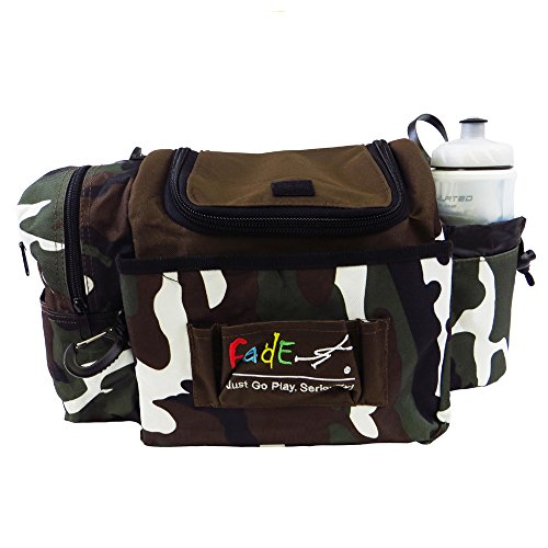 Fade Crunch Box Disc Golf Bag Camouflage by FADE