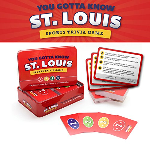 You Gotta Know St. Louis - Sports Trivia Game