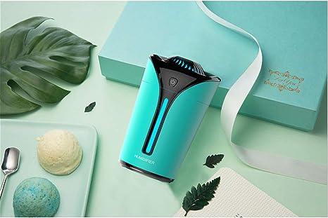 TJCB Cáliz de Color de la luz Recargable purificadores de Aire Mini-USB Fuego humidificador atomizador No Hay radiación Fresco Mudo Niebla humidificadores para la Oficina de Sala de Estar,Verde: Amazon.es: Deportes y
