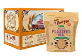 Bob's Red Mill (Resealable) Organic Golden Flaxseed Meal, 32-ounce (Pack of 4)