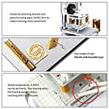 Hot Foil Stamping Machine 10x13cm with T-Slot
