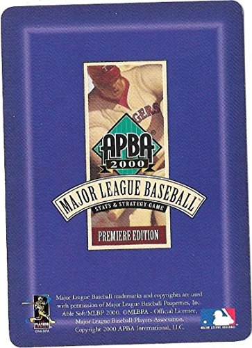 (1999 APBA Season (Color) - SAN DIEGO PADRES Team Set)