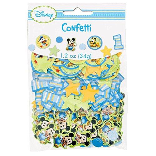 Mickey's 1st Birthday Confetti Value Pack