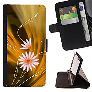 Jordan Colourful Shop - Flowers Pattern For Apple Iphone 6 - Leather Case Absorci???¡¯???€????€???????????&AE