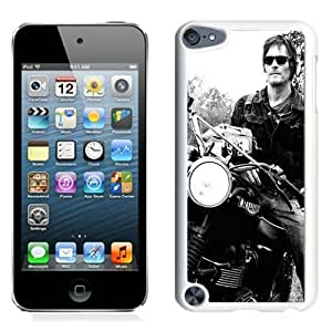 Great Quality iPod Touch 5 Case ,Beautiful And Unique Designed Case With Norman Reedus White iPod Touch 5 Cover Phone Case