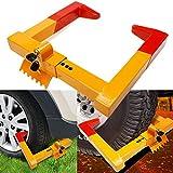 Anfan Car Wheel Lock Anti Theft Tire Lock Clamp Boot Tire Claw Parking Car Truck RV Boat Trailer